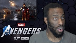 REACTION to Marvel's Avengers: A-Day | Official Trailer E3 2019 with Panel Cast & Release Date #E3