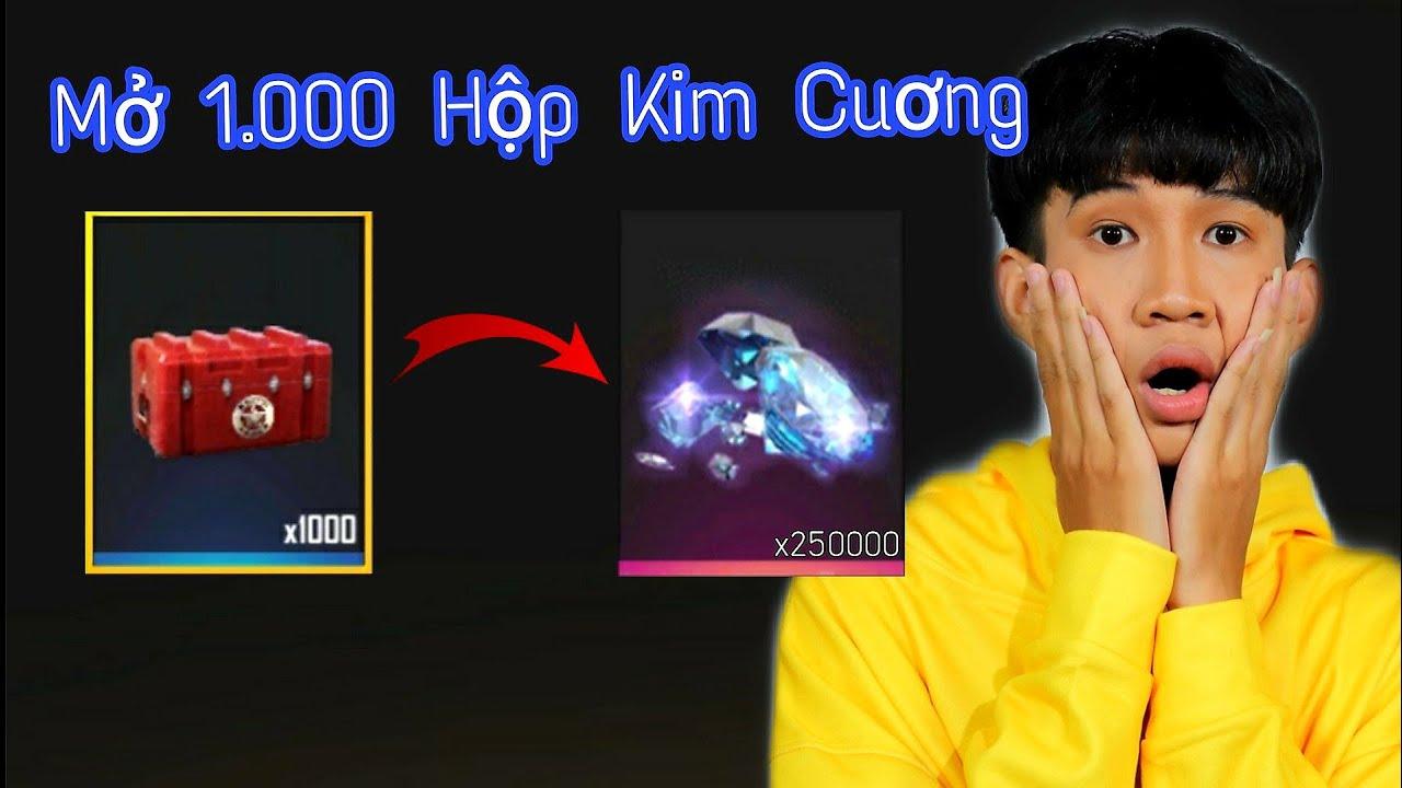 """[FREE FIRE] - Mở """"1000"""" Hộp Kim Cuơng - ANH FORD Một Pha Đầu Tư Lớn Đi Vào Lòng Nguời"""