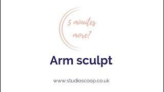 Studio Scoop Pilates   5 Minutes More   Arm Sculpt