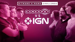 IGN vs GameSpot Hitmano-A-Mano Challenge - Hitman 2 Live Stream