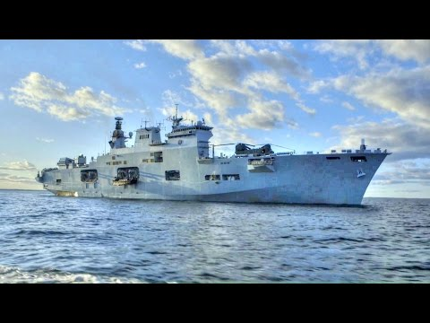 Royal Navy Flagship HMS Ocean – Amphibious Assault Operations