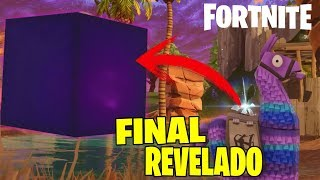REVEALED FATE OF THE CUBE OF FORTNITE INCREDIBLE SECRETS DISCOVERED FORTNITE: Battle Royale
