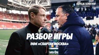 Разбор игры «Спартака» перед матчем с «Крыльями Советов»