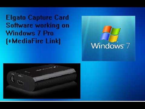How To Install Elgato Capture Software On Windows 7 Pro