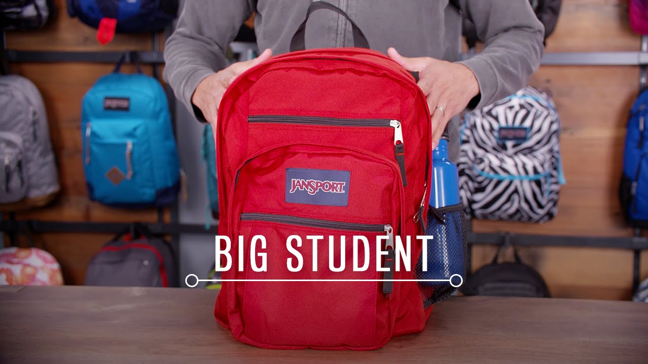 JanSport Pack Review: Big Student Backpack - YouTube