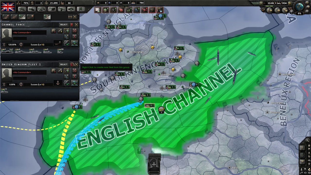 HOI 4 Multiplayer Guide - Trade Interdiction New Zealand Part 1