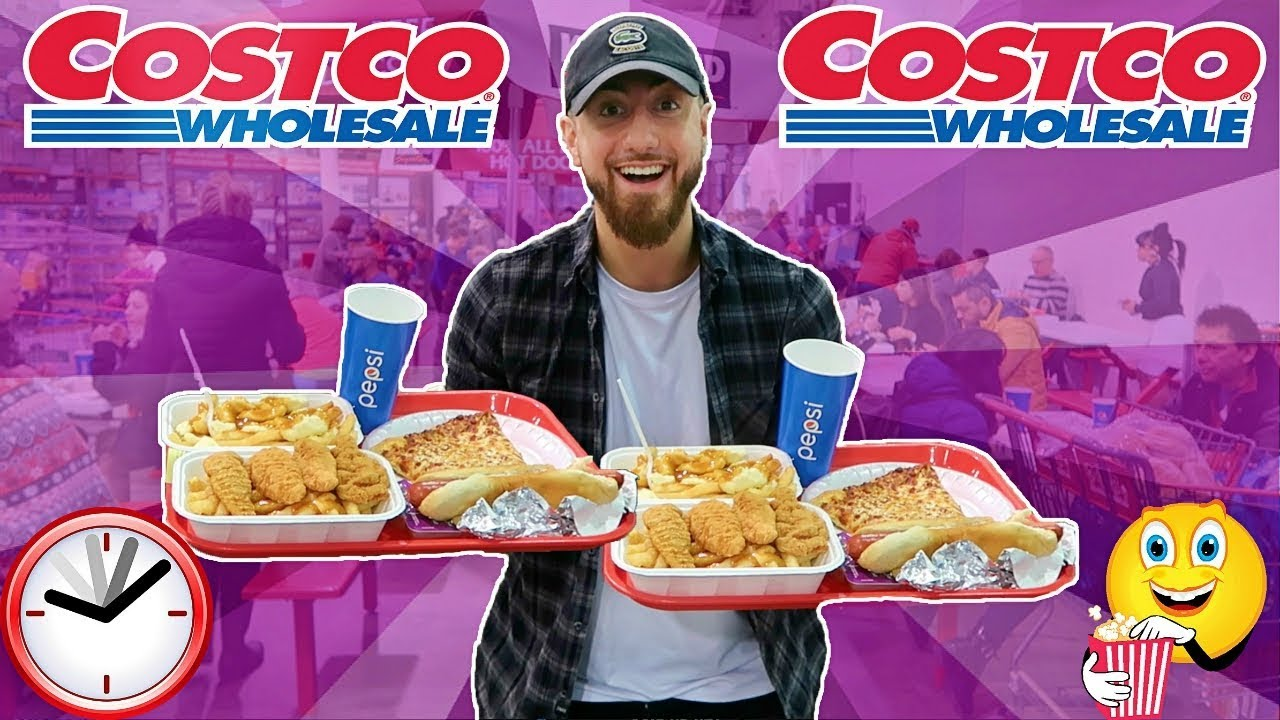 I Only Ate Costco Foods For 24 Hours Impossible Food