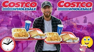 I Only Ate COSTCO Foods For 24 Hours! (IMPOSSIBLE FOOD CHALLENGE)