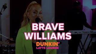 Brave Williams Performs At The Dunkin Latte Lounge