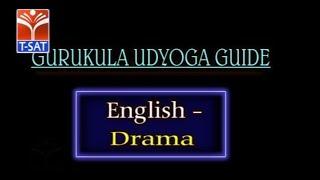 GURUKULAM (Mains) || English - Drama  || LIVE SESSION With Ambati Srinivas