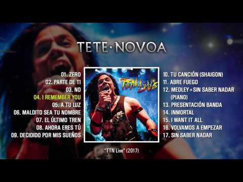 "TETE NOVOA ""TTN Live"" (Álbum completo)"