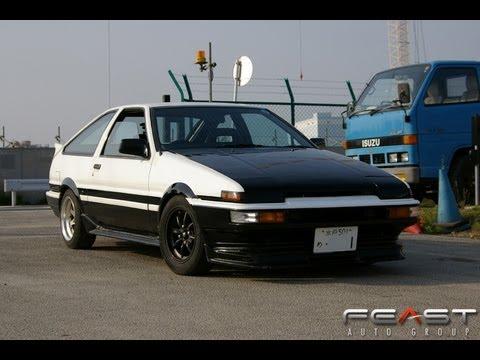 1986 Toyota Sprinter Trueno Gt Apex Test Run 05 2013
