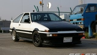 1986 Toyota Sprinter Trueno GT Apex - Test Run 05/2013