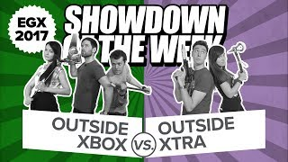 Showdown of the Week! Outside Xbox and Outside Xtra Live Show from EGX 2017