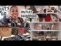 OUTLET MALL SHOPPING/ COME WITH ME * COACH/KATE SPADE/MICHAEL KORS