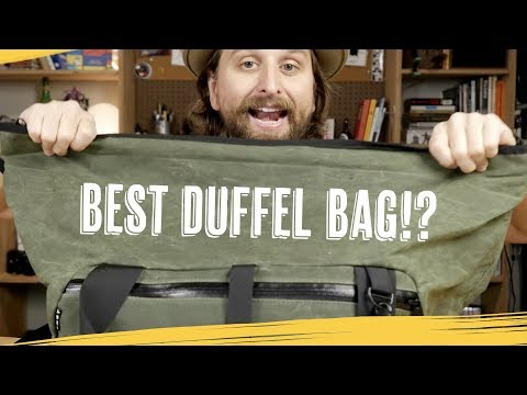 Best Travel Duffel Bag Ever? — [YNOT Viken]