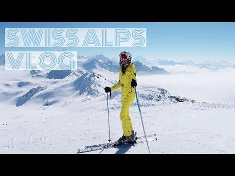 SWISS ALPS VLOG - Geneva & Ski Vacation In Chandolin