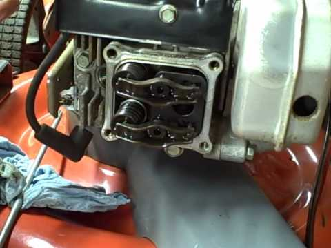 Small Engine Repair: Adjusting Valves or Valve Lash on a Tecumseh Lawn Mower