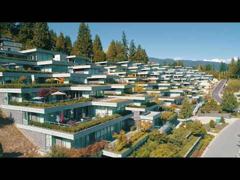 Drone Tour of Evelyn - New West Vancouver Homes