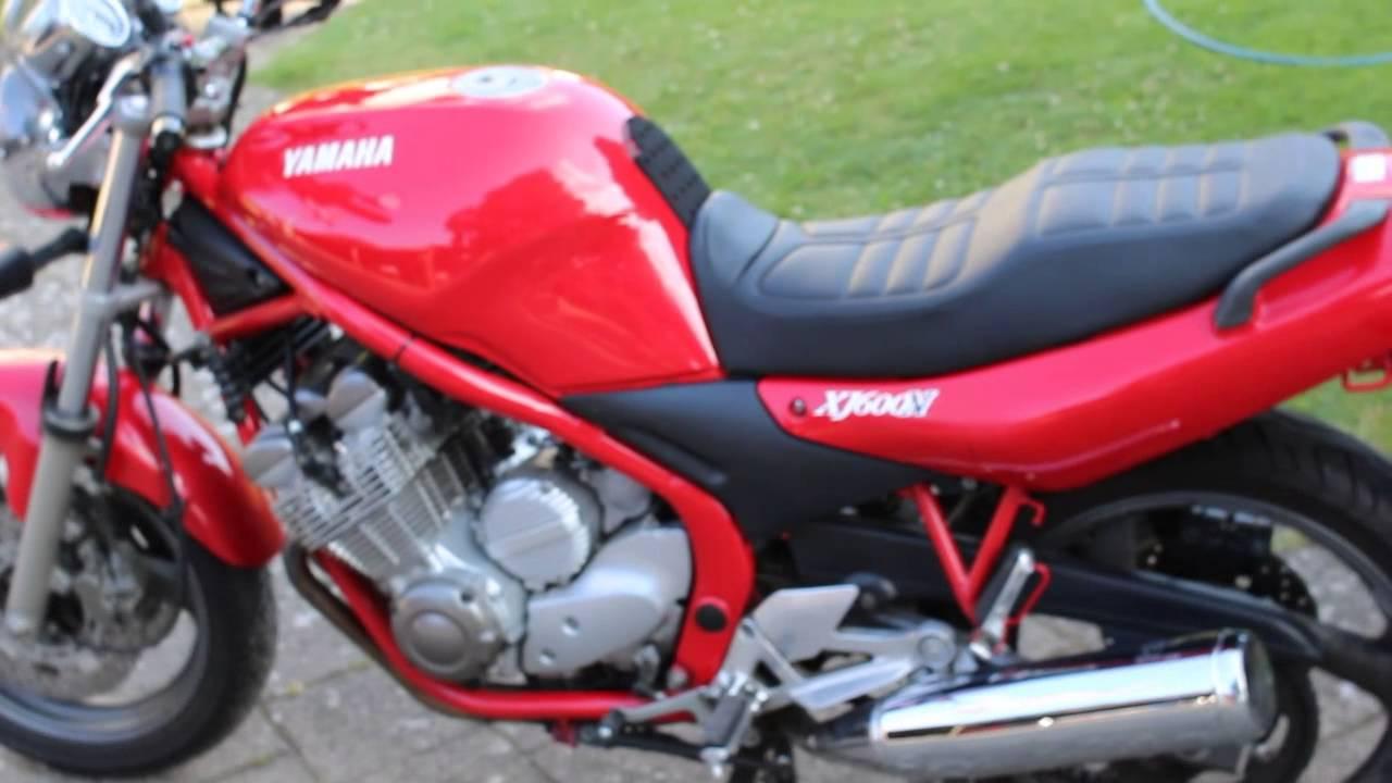 Elskede Yamaha XJ 600N Diversion 1998 - YouTube NX51