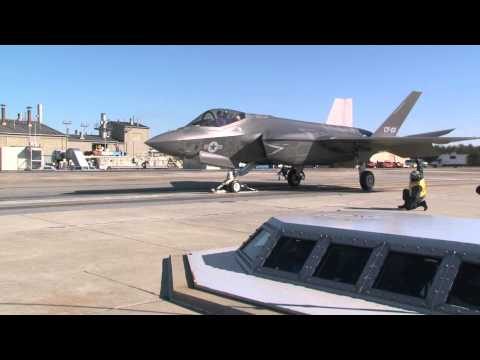 First F-35C launch from EMALS