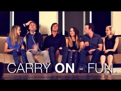 Carry On - Fun |  Ali Brustofski Madilyn Bailey Peter Hollens J.Rice Skylar Dayne Runaground Cover