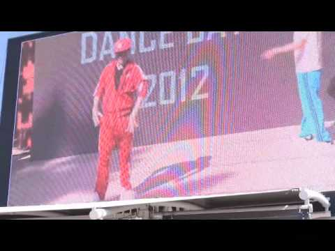 A Gangnam Adventure - Korea vs Australia Dance Battle 2012 (via satellite)