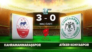 Kahramanmaraşspor 3-0 Atiker Konyaspor | Maç Özeti