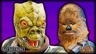 When Chewbacca Meets Bossk - STAR WARS Battlefront Machinima Film