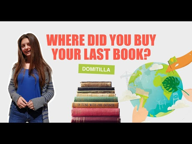 Where did you buy your last book? | Domitilla Roero di Monticello