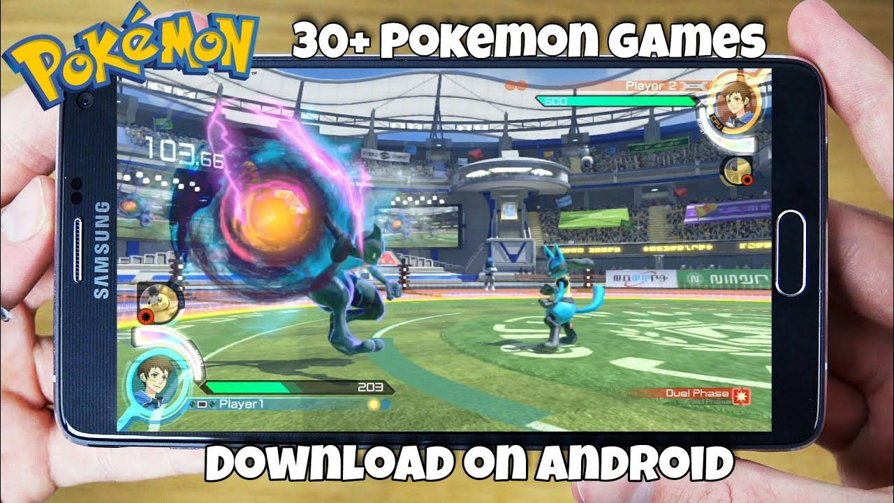 Download now 30+ Pokemon games on Android for free - YouTube