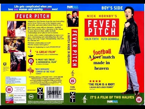 Original VHS Opening: Fever Pitch (1997 UK Rental Tape)