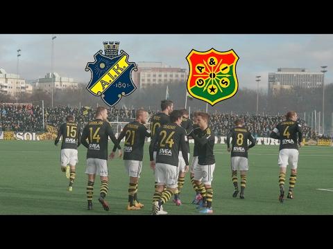 AIK - Gais 1-0 (2017.02.19) Svenska Cupen