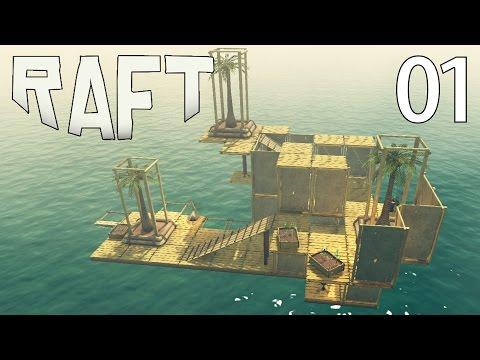 🔥 Zagrajmy w RAFT [#1] TRATWA I OCEAN - JAK PRZETRWAĆ?!