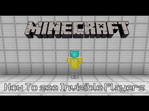 how to become invisible in minecraft