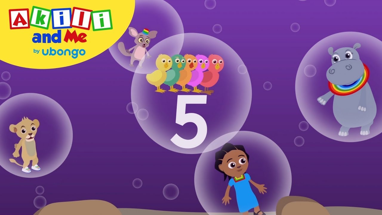 STORYTIME: 5 Chicks and a Mango!   Akili and Me FULL STORY   Cartoons for Preschoolers
