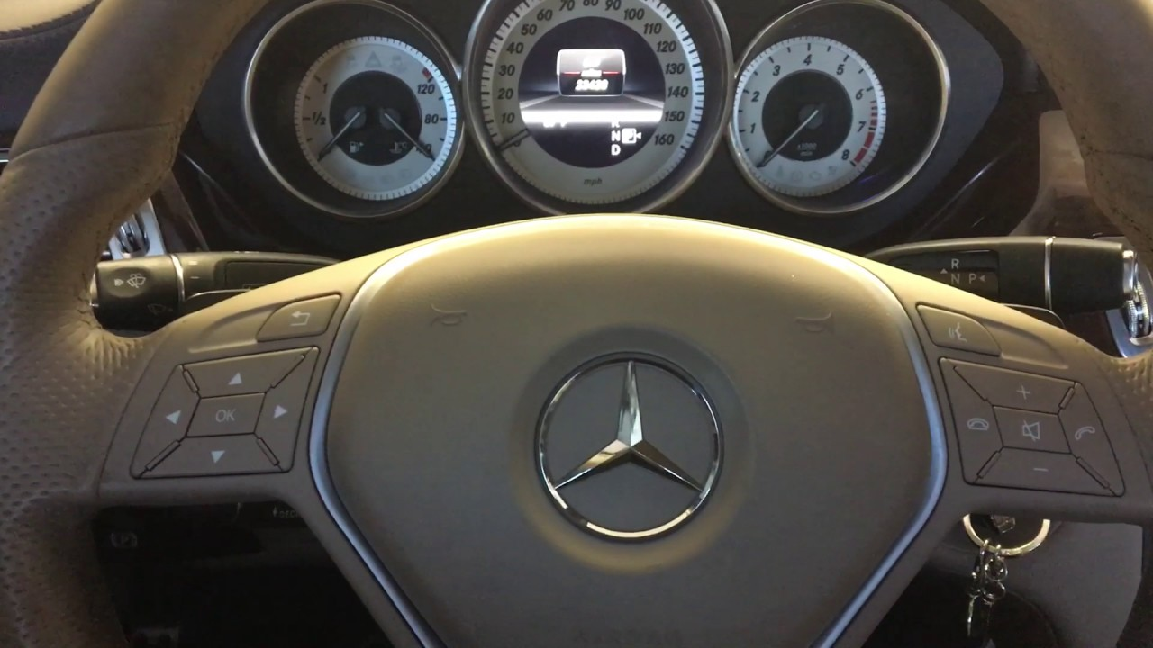 how to reset maintenance light on a 2013 mercedes benz cls 550 youtube. Black Bedroom Furniture Sets. Home Design Ideas