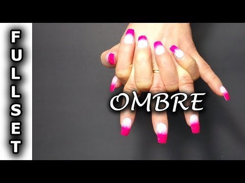 How To Do Ombre SNS Nails Design