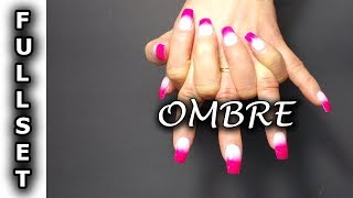 How To Do Fullset Ombre ♥ SNS Nails - Dipping Powder ♥ Regal Nails Salon