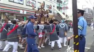 川崎市 多摩区 中野島祭礼 2017 10.8