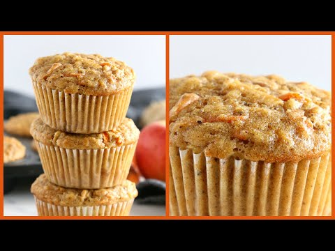 How to Make Apple Carrot Muffins