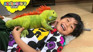Skyheart's Animal Plush Collection - Cute Dogs, Cats, Dinosaurs, Lizards, Safari toys for kids