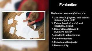 Special Education: Referral, Evaluation and the IEP (Part 2 of 4)