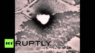 Syria: Russia hit huge ISIS ammo hold near Homs