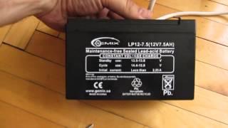 Замена батареи в бесперебойнике (ИБП) дубль ДВА :)(, 2014-07-22T17:08:27.000Z)