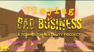 Playing Bad Business!!! | Roblox | Mrninjalink