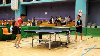 2011油尖旺乒乓球區賽MH決賽 Round 4