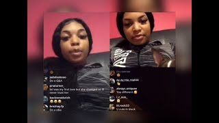 NBA Youngboy Side B.DOLLAS Goes LIVE With Guy That Tried To HOLLA But Had No GAME