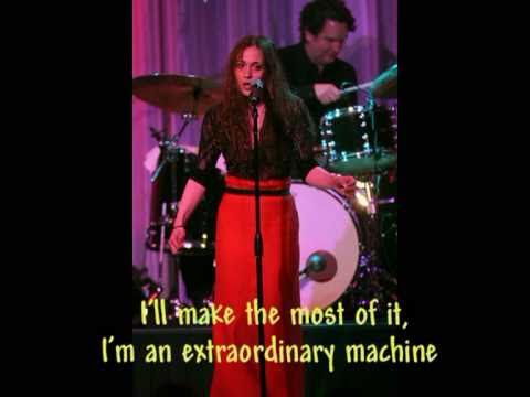 Fiona Apple _Extraordinary machine (Lyrics o.s. + pics 2011)