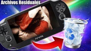 Limpia tu PS Vita de Archivos Basura!! (Descargas erróneas de PKGJ)